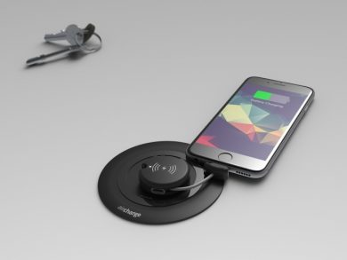 Aircharge Wireless Charging keyring