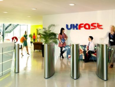 UKFast offices in Manchester Science Park