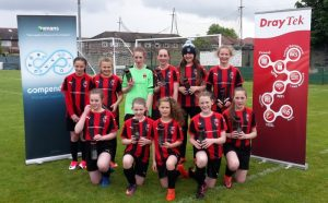 Salford JFC, the junior girls football team