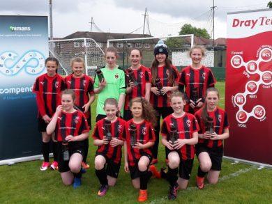 Salford JFC, the junior girls football team