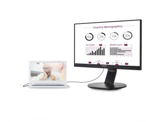 MMD's new USB docking monitor is a great solution for ultra-book type devices with limited connectivity.