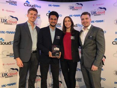 UK Cloud Awards winners